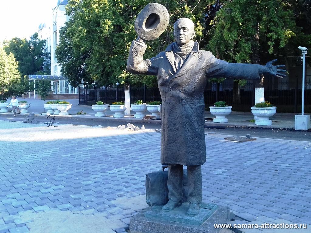 Памятник Юрию Деточкину в Самаре