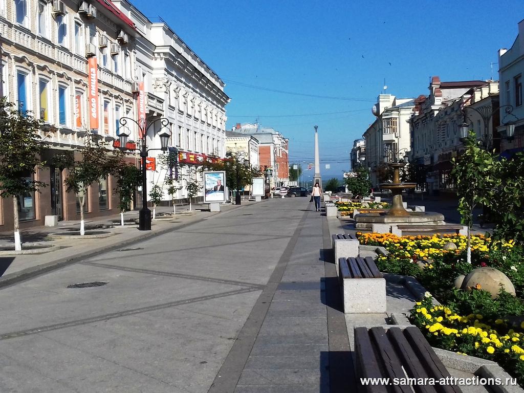 Пешеходная зона ул.Ленинградская