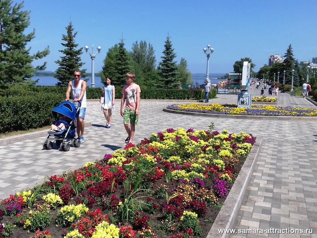 В Самаре множество мест для прогулок
