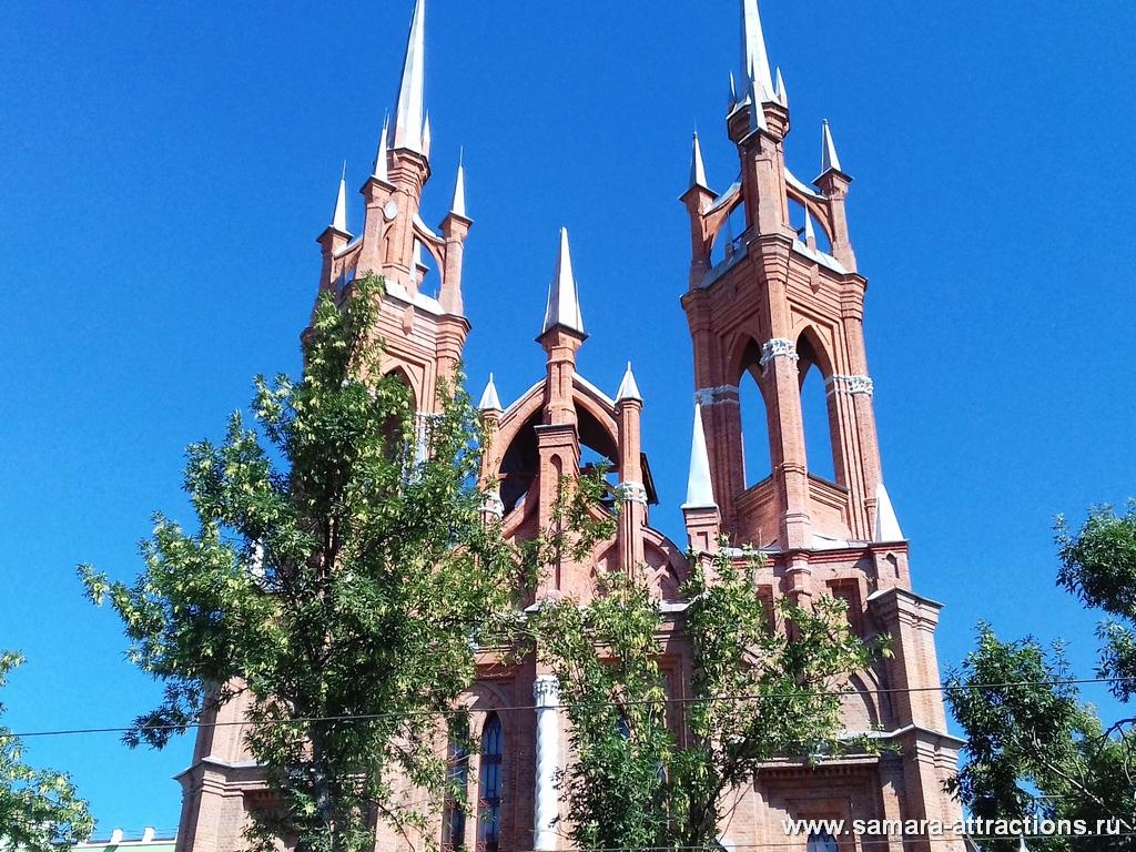 Польский католический храм в Самаре