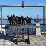"""Памятник """"Бурлаки на Волге"""""""
