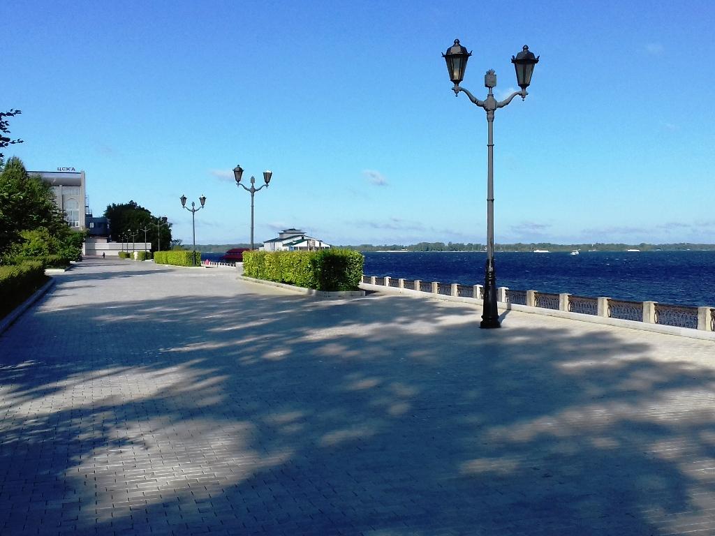Начало Новой набережной Самары