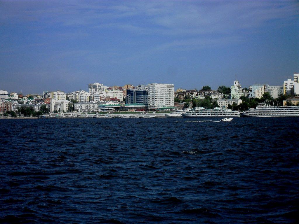 Город Самара. Вид с Волги