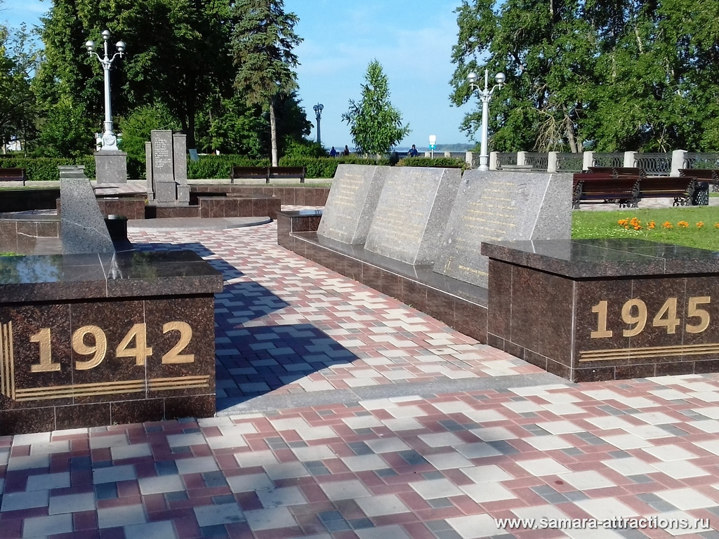 Памятник самарцам - курсантам Соловецкой школы юнг