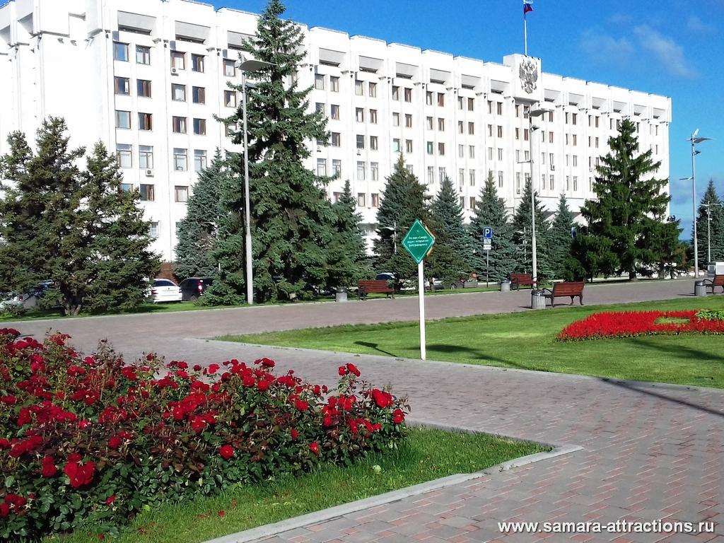 Здание Правительства Самарской области на площади Славы