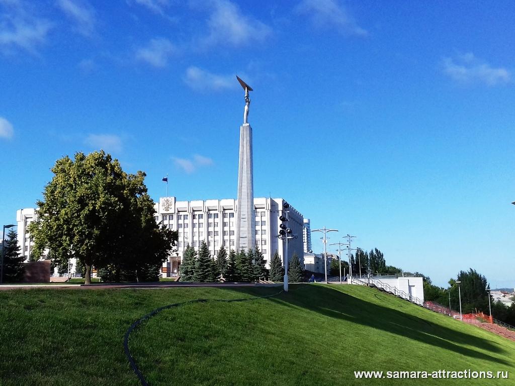 Монумент Славы - символ Самары