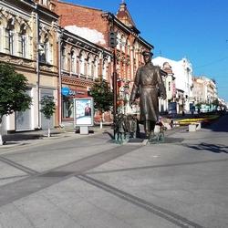 Улица Ленинградская в Самаре