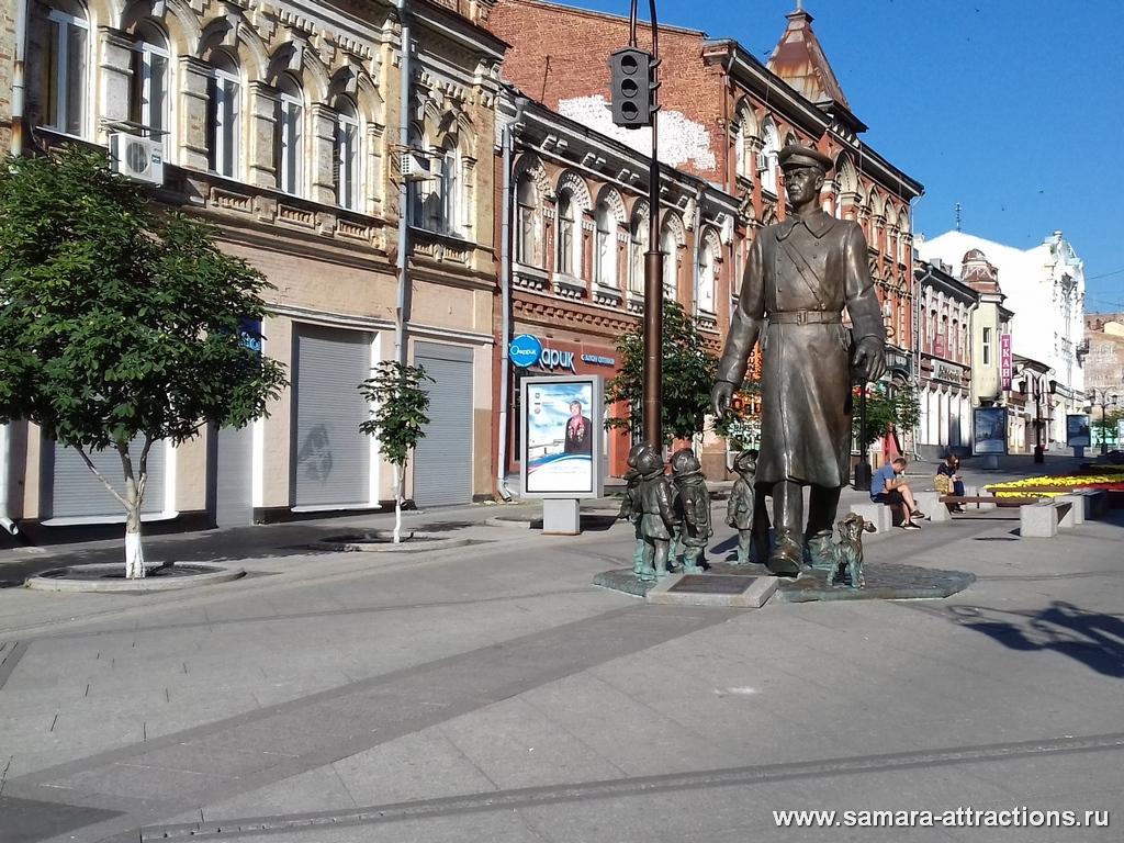 Памятник Дяде Степе в Самаре