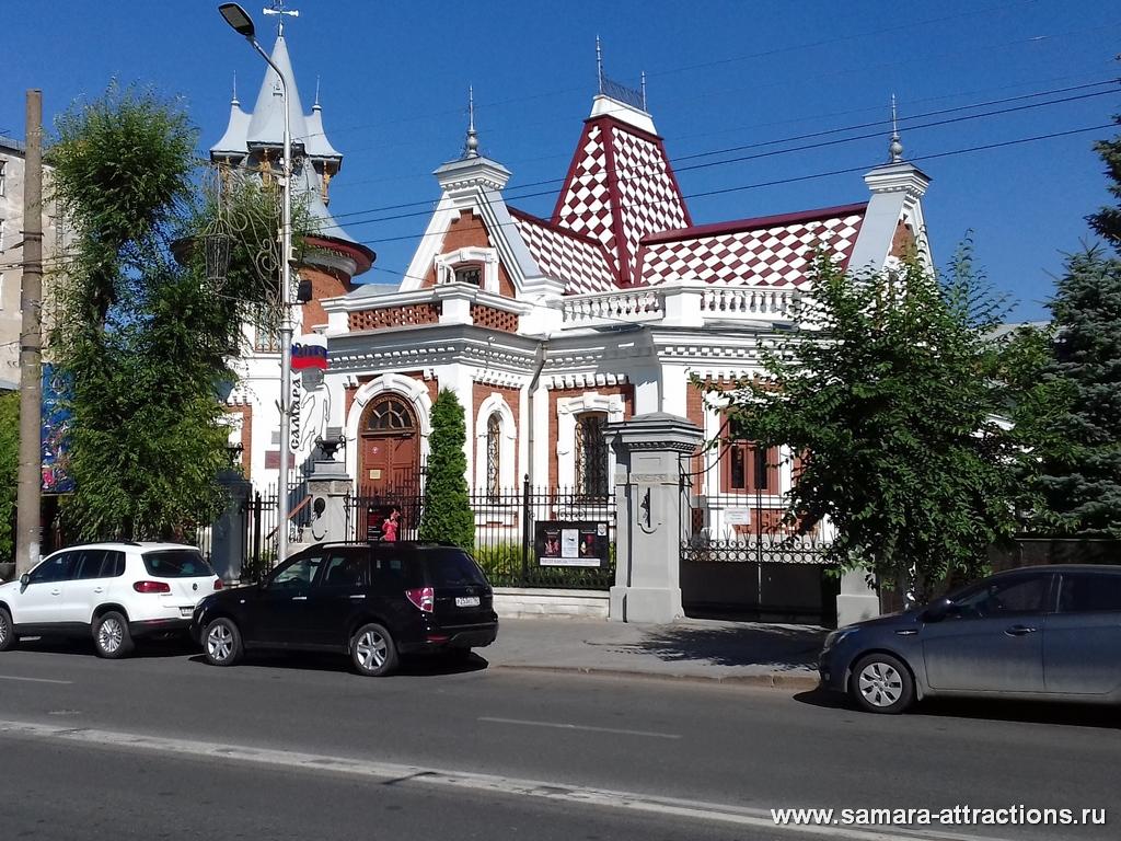 Домик Клодта на ул. Куйбышева в Самаре